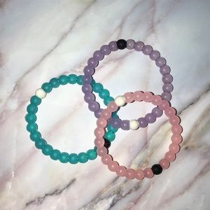 set of 3 authentic lokai bracelets